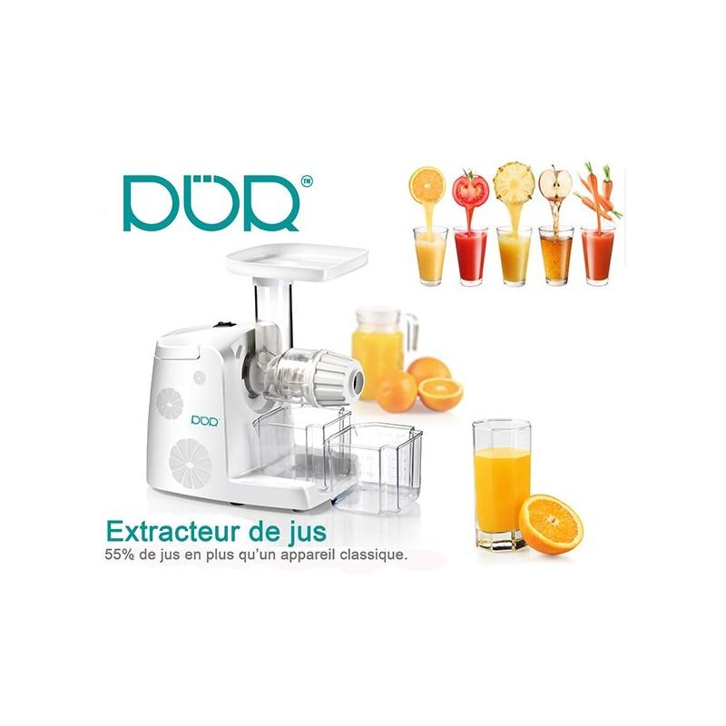 Extracteur De Jus Slow Juicer Greenis : extracteur de jus ? vitesse lente Slow juicer 80t/m pour de bon jus